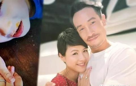 前TVB花旦自爆有人向她求婚 老公陈豪有对手?