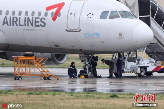 資料圖:韓亞航空客機。圖片來源:東方IC 版權作品 請勿轉載