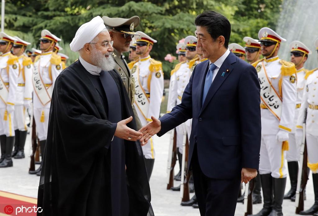 安倍6月12日拜访伊朗 @IC Photo