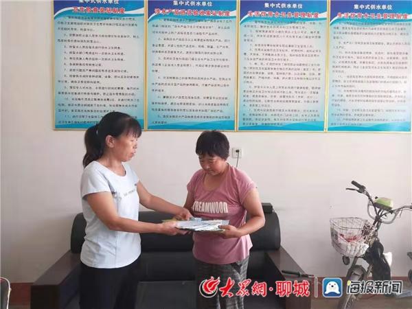聊城市生态环境局阳谷县分局组织开展饮用水源保护宣传活动
