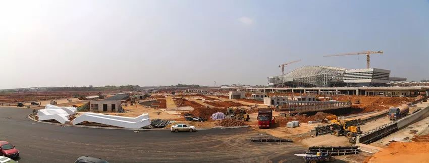 赣州高铁新区建设最新进度来了!年底投入使用!