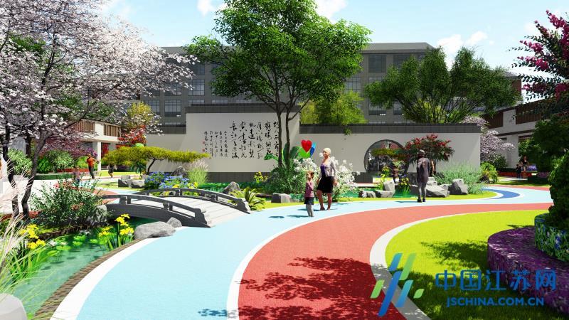 兴化:投资近2亿元建设老年健康养老中心