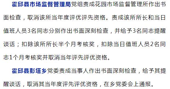 通报、写检查、扣钱!六安这些单位公职人员被处罚……