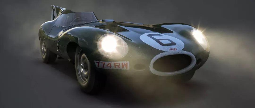 AUTOMOBILIST 海报的故事:捷豹D型赢得了死亡竞赛