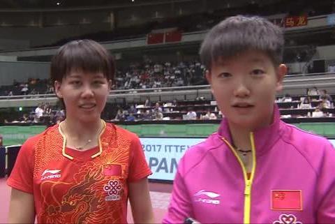 七连冠!中国女乒3-0横扫日本队,连续三年决赛胜日本