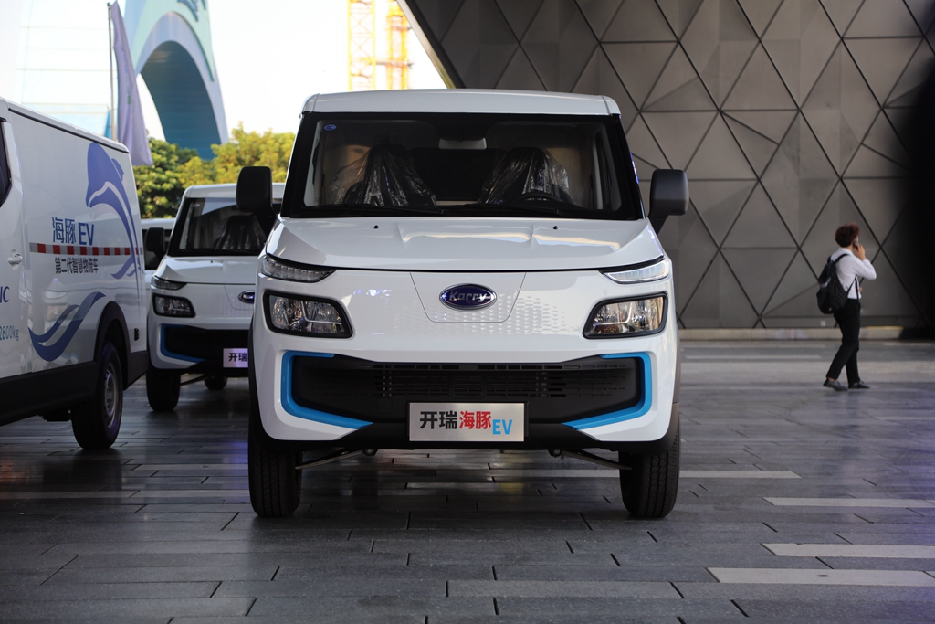 售价12.48~12.88万元 开瑞新能源海豚EV正式上市