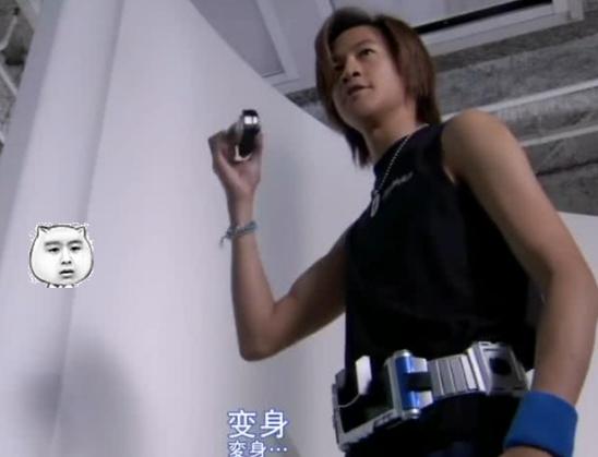 假面骑士16年前剧照公开,何润东虽然出演天帝,却是没穿皮套!