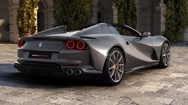 动力更强劲/零百加速3秒内 法拉利发布812 GTS Spider