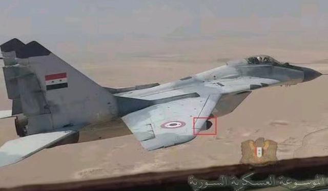 挂载俄制干扰吊舱,叙利亚的新版本米格29,能对抗土耳其F16?
