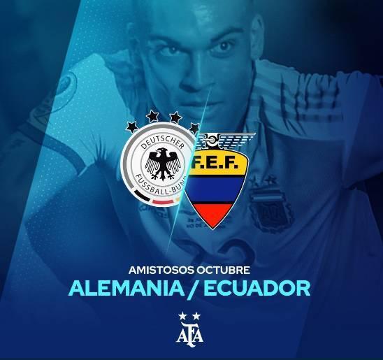 官方:阿根廷10月份友谊赛将对阵德国、 厄瓜多尔