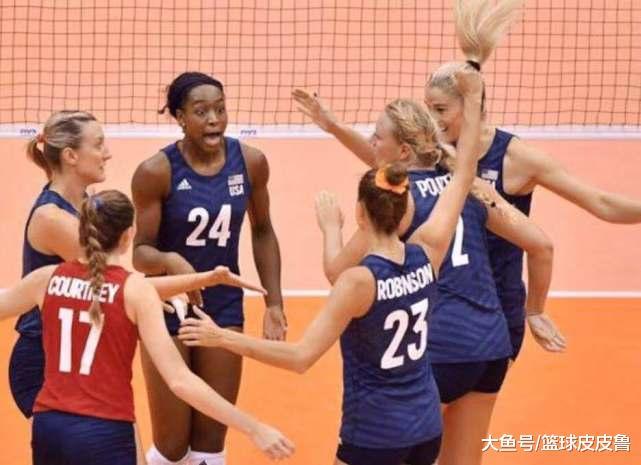 连斩塞尔维亚荷兰巴西三大豪强,美国队反超中国队逆袭登顶