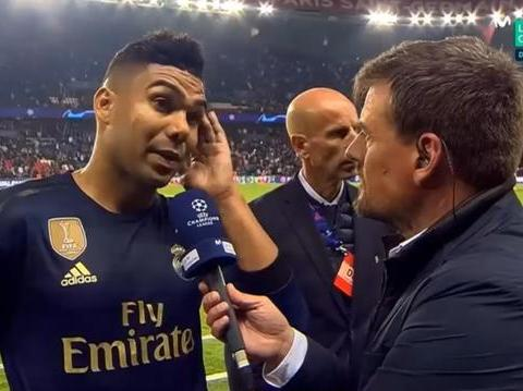 卡塞米罗表示皇马努力了,但是巴黎的主场太难踢了