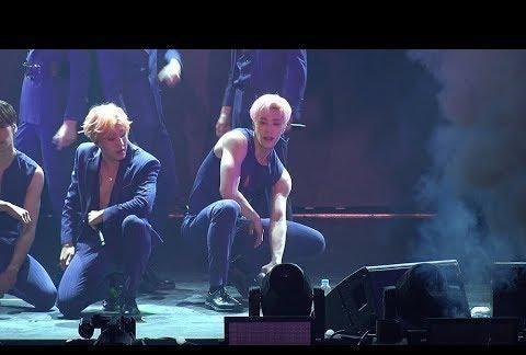 男团成员跳东方神起歌曲秀手臂线条,10岁时曾和郑允浩一起上节目