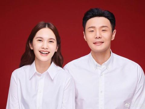 杨丞琳李荣浩有空去结了个婚!这场大眼瞪小眼的爱情怎么这么甜?
