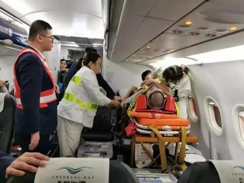 """柬埔寨JC国际航空成功将""""担架旅客""""转运回中国重庆"""