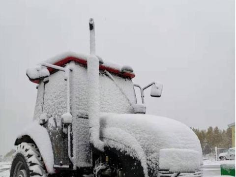 气温下降,漠河降雪,寒冬来临你的冬季胎要安排上了吗?