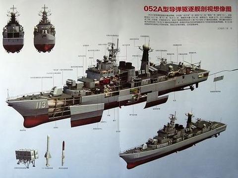 排水量4500吨,引导战舰发展走上巅峰,055驱逐舰也得感谢它