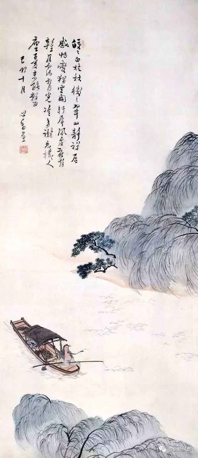 儒家的敬、道家的静、佛家的净,都在这画里了!