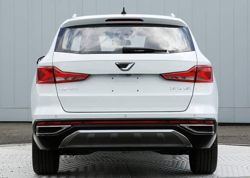 品牌第三款车将问世 捷达VS7申报图曝光