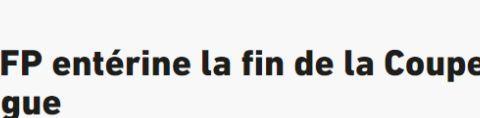 官方:法国职业足球协会将暂时停办联赛杯