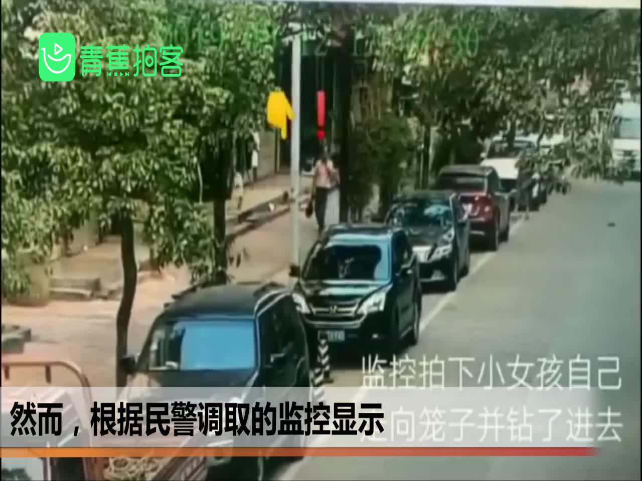 网爆幼女被关铁笼囚禁?浙江金华公安:系谣传