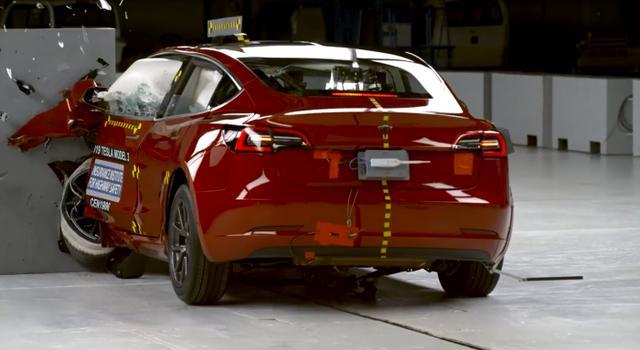 Model 3成特斯拉首款拿到IIHS最高安全评级的汽车