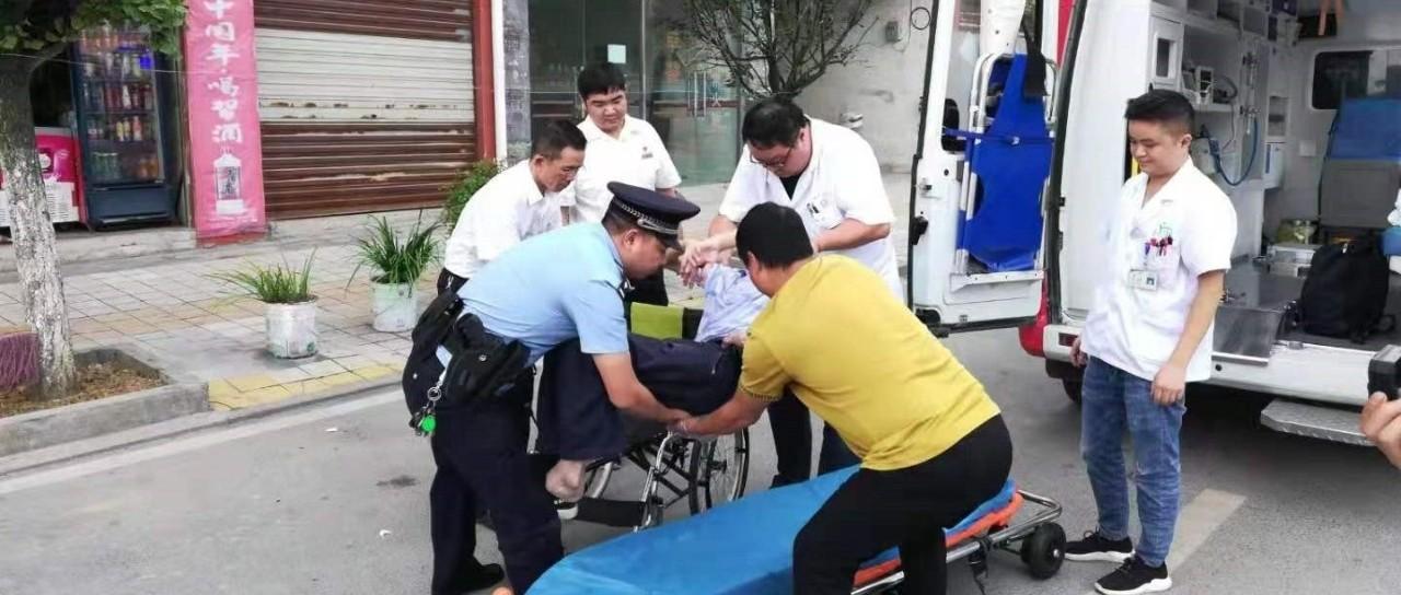 旅客乘车突发疾病 贵铁民警紧急救助