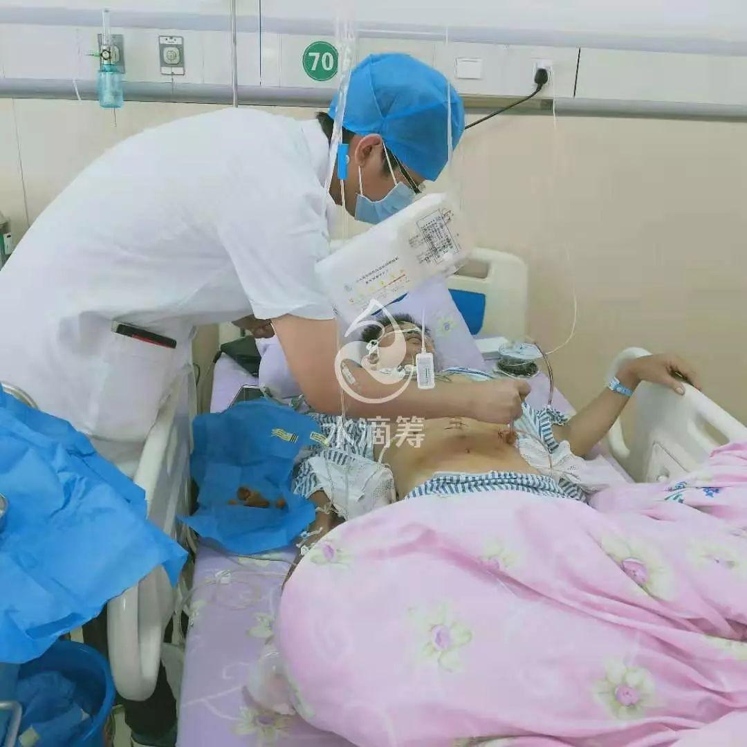 【求助】他是一名单亲爸爸,却诊为恶性肿瘤胃癌,整个胃切除...急需爱心人士的帮忙。