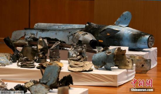 本地工夫9月18日,沙特利俗得,沙特国防部举办记者会,宣布了14号沙特石油设备逢袭事务的查询拜访成果,并展现了正在打击现场搜集的导弹战无人机残骸。