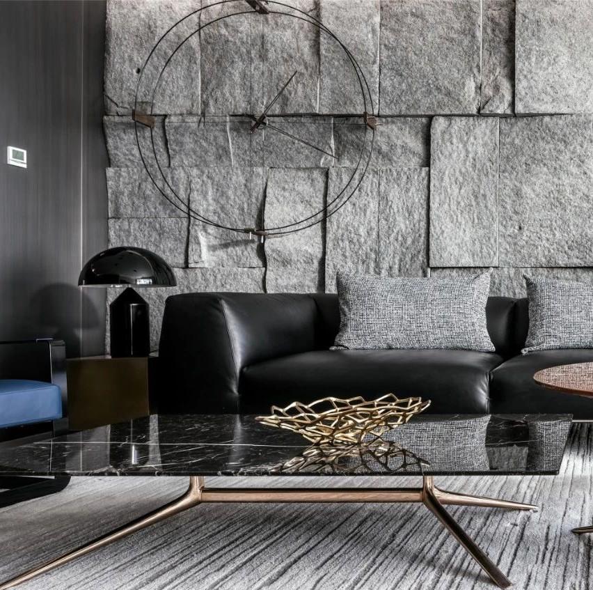 150㎡现代高品质私宅,功能性与视觉体验齐备