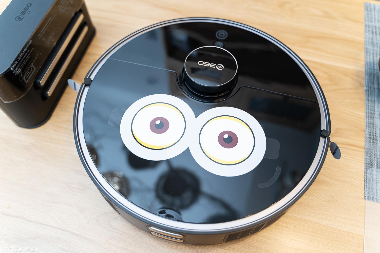 大眼萌将,智能扫拖——360智能扫地机器人T90体验