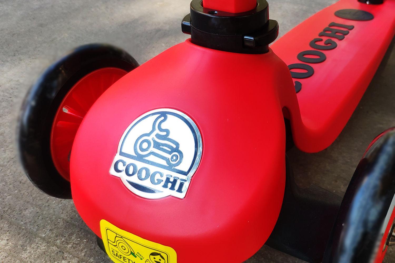 适合2岁-7岁孩子玩耍的童车:酷骑V2滑板车体验