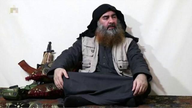 """垂死挣扎?为稳军心,""""伊斯兰国""""发布新录音,巴格达迪还活着"""