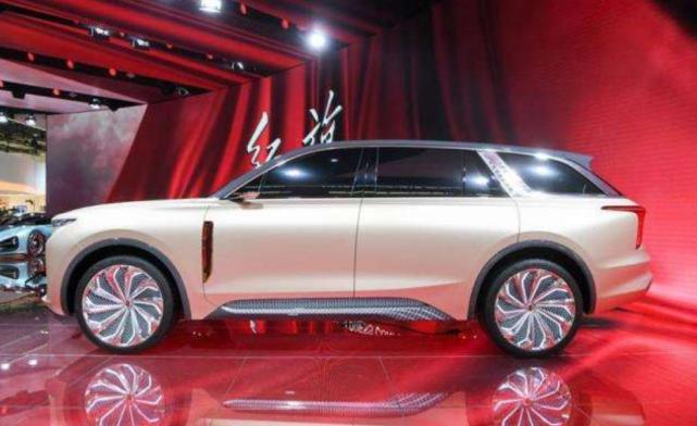 有这颜值还看啥库里南,红旗全新SUV发布,破百不足4秒