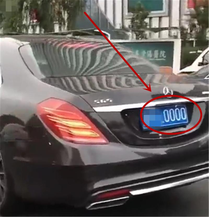 """300万奔驰S65现北京,4.2秒破百,挂""""炸弹号""""牌,车牌值50万"""