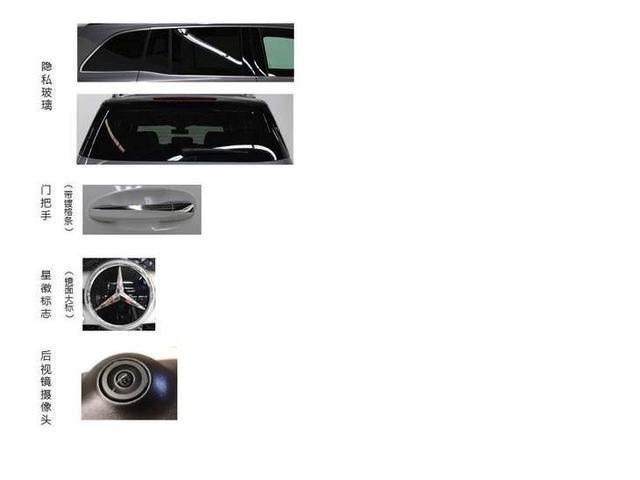 全新奔驰GLB申报图曝光,1.3T发动机+可选配隐私玻璃,你怎么看