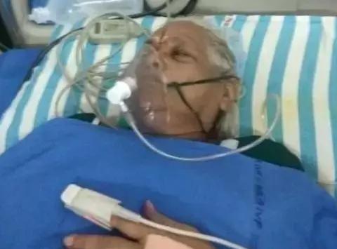 那个全球最高龄产妇,现在与丈夫一起躺在了重症监护室