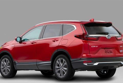 本田CR-V中期改款,内饰、外观双升级!丰田RAV4在哪呢?