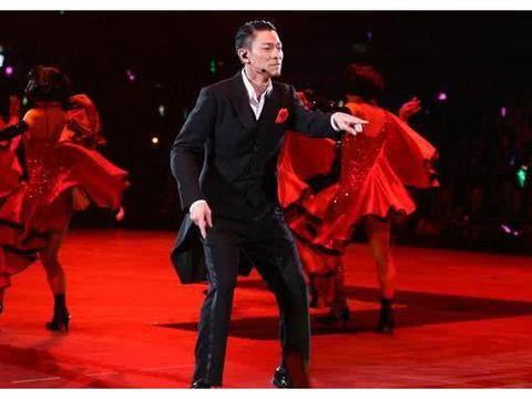 刘德华御用女舞伴,16岁相随不离不弃,华哥以女儿之名纪念她!