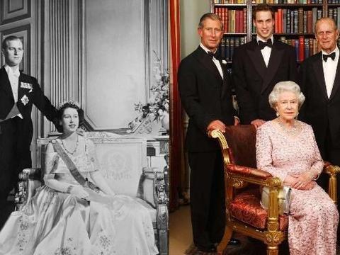 菲利普亲王当年有多帅?看了这组结婚照,难怪迷倒13岁英国女王