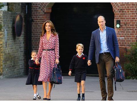 威廉王子和凯特米德尔顿的第一次秋季联合活动