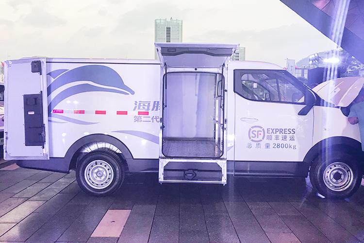 物流快递、送货餐饮的好选择,开瑞新能源海豚EV实拍解析