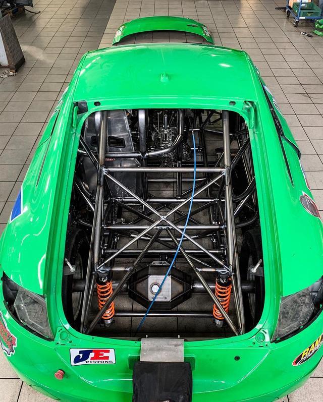 谁说VR6引擎不好改?1356匹马力又快又稳的奥迪TT