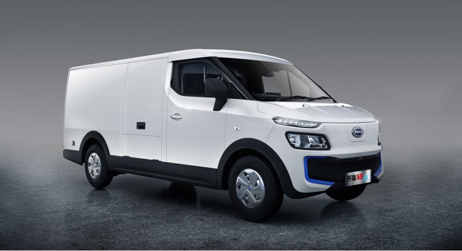 海豚EV上市,售14.48万起,开启第二代智慧物流车新纪元