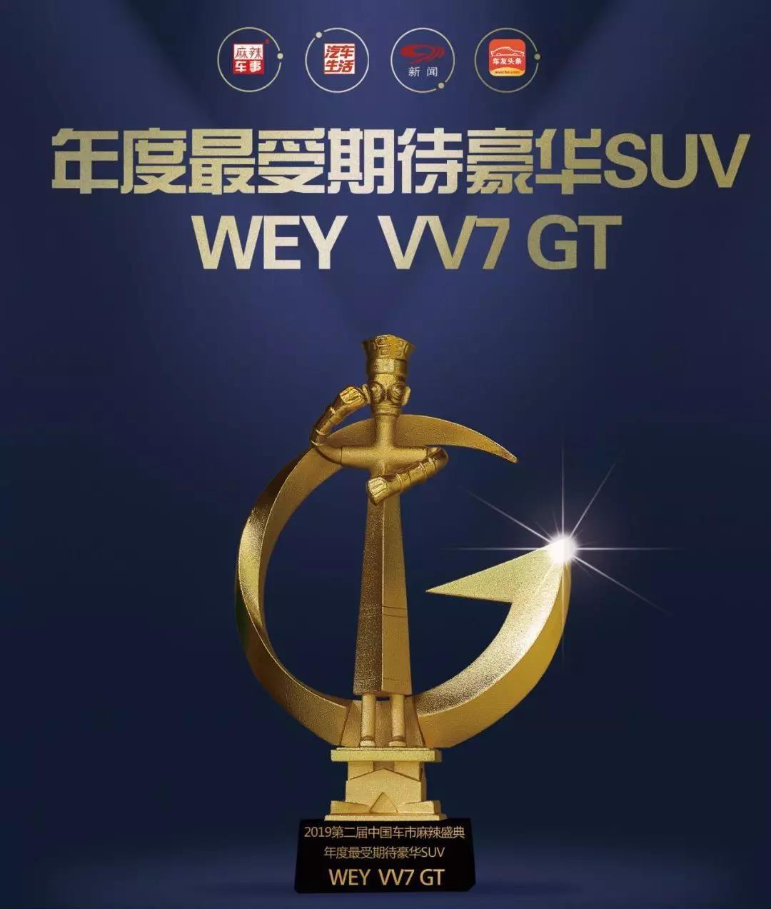 WEY VV7 GT获奖,不仅因为颜值更