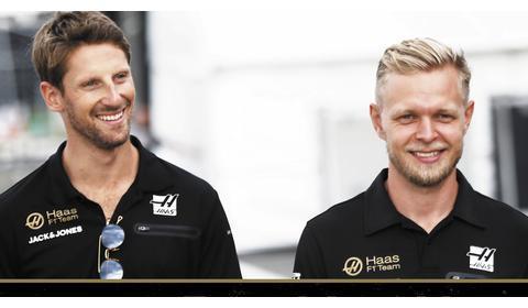 哈斯F1续约格罗斯让 霍肯伯格将去何方?
