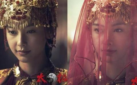 杨颖5款红妆,图1惊艳无比,最后一张太惊悚,胆小的会被吓到!