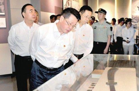 阜阳市委常委接受革命传统教育