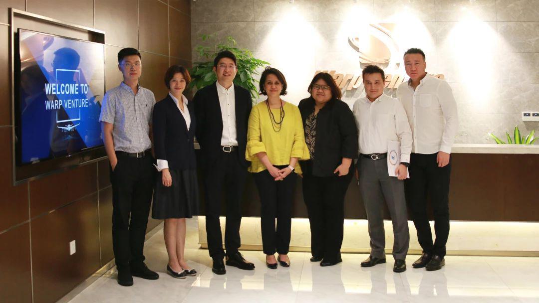 亚洲航空集团总裁艾琳·奥玛尔参访重庆曲速创投