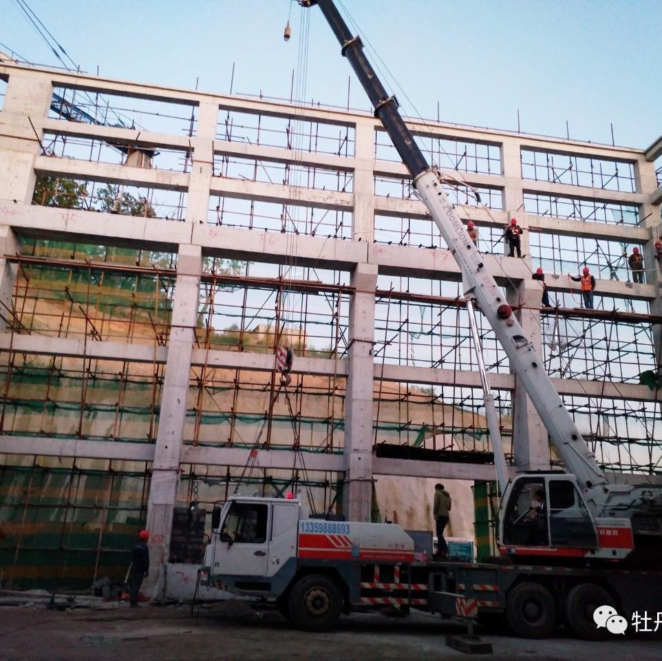 【城事】荒沟抽水蓄能电站吊车梁完成吊装